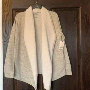 Sweatshirt/cardigan